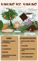 Czym różni się prawdziwe kakao od kakaowego proszku?